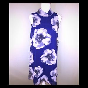 NEW PERCEPTIONS  New York Blue Floral Dress-Size 6